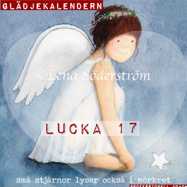 Lucka 17 Små stjärnor lyser också i mörkret